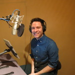 Tim Federle in the Booth