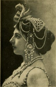 Mata Hari, 1919. Image via Internet Archive.