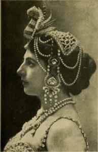 Mata Hari, 1919. Image via Internet Archive.
