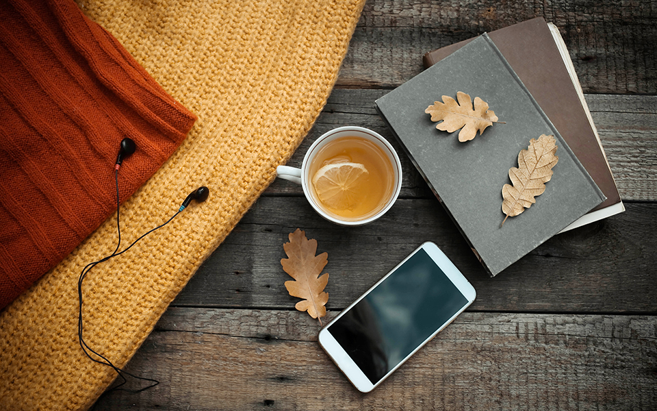 fall reading and listening