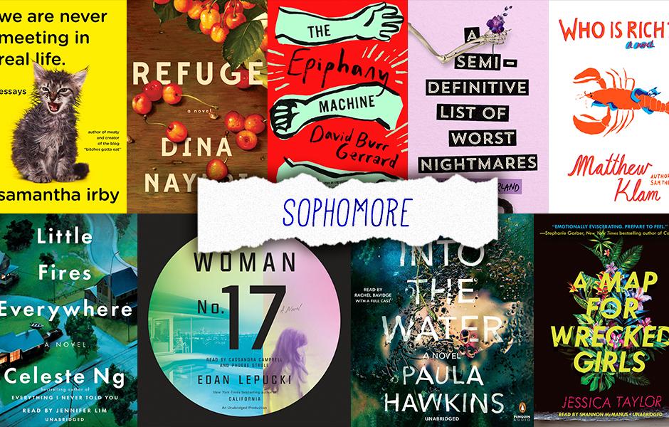 sophomore books