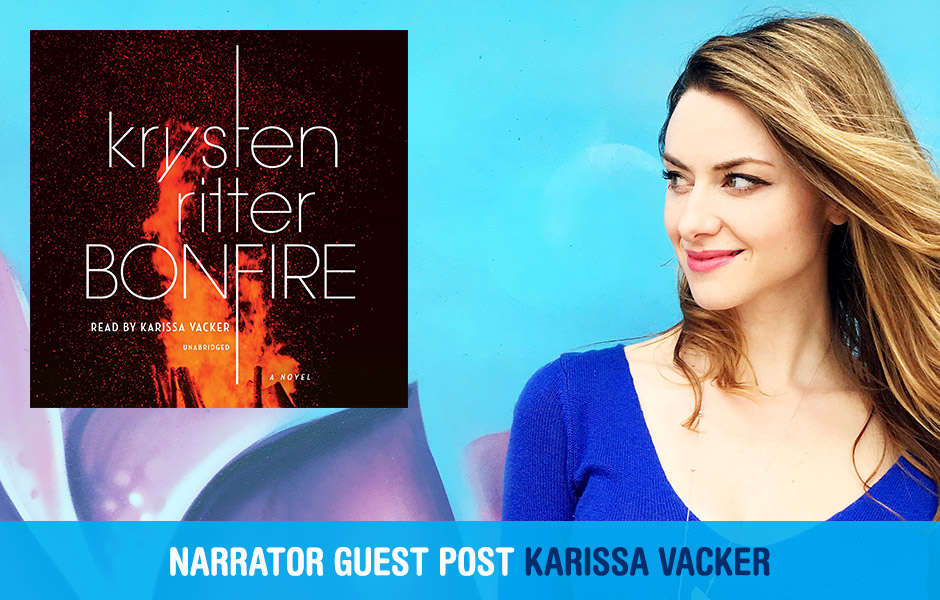 Karissa Vacker Bonfire audiobook