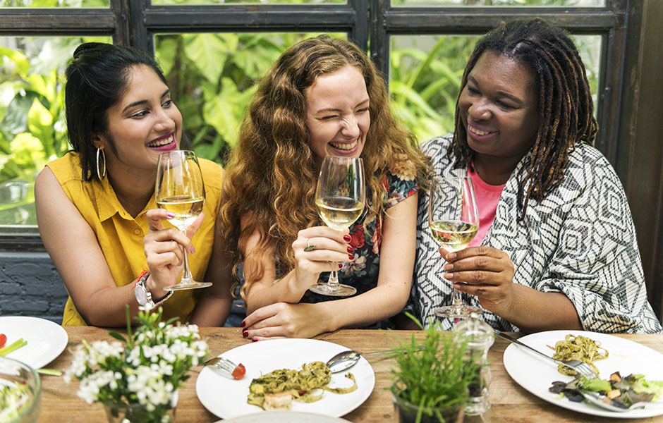 galentine listen female friends