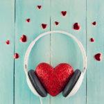 valentine's listens love heart