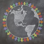 children around the world globe