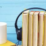 headphones listening to books