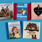 Founding Fathers themed audiobooks for young listeners