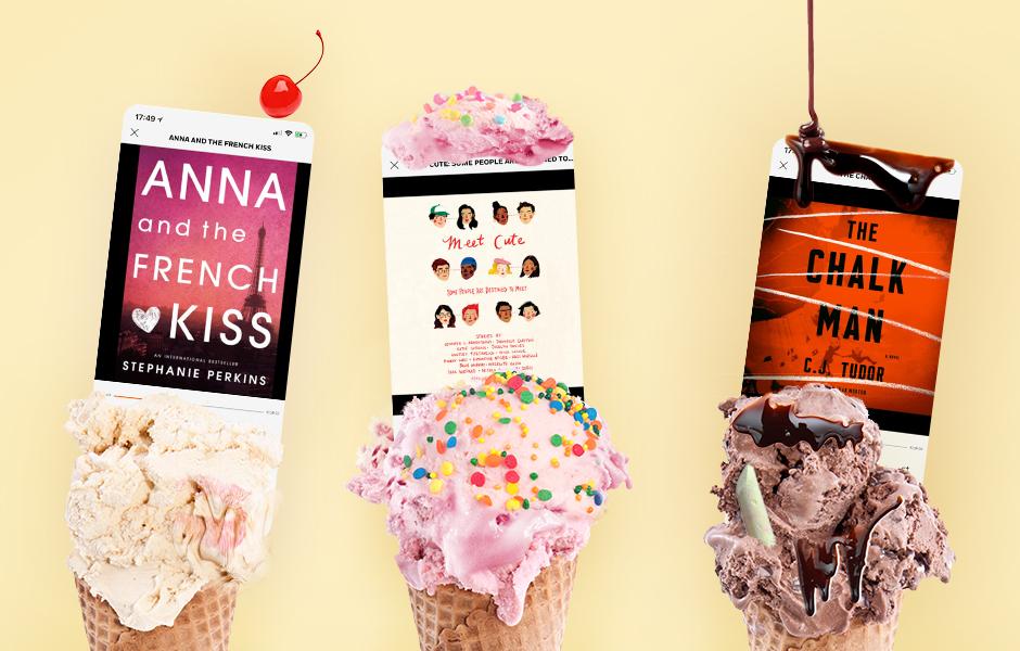 audiobooks in ice cream