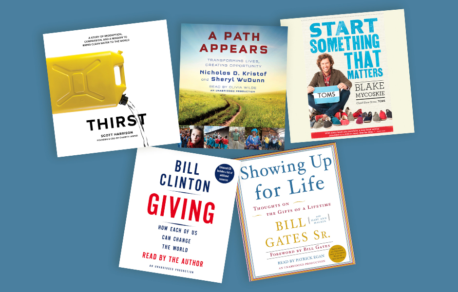 Audiobooks about charity
