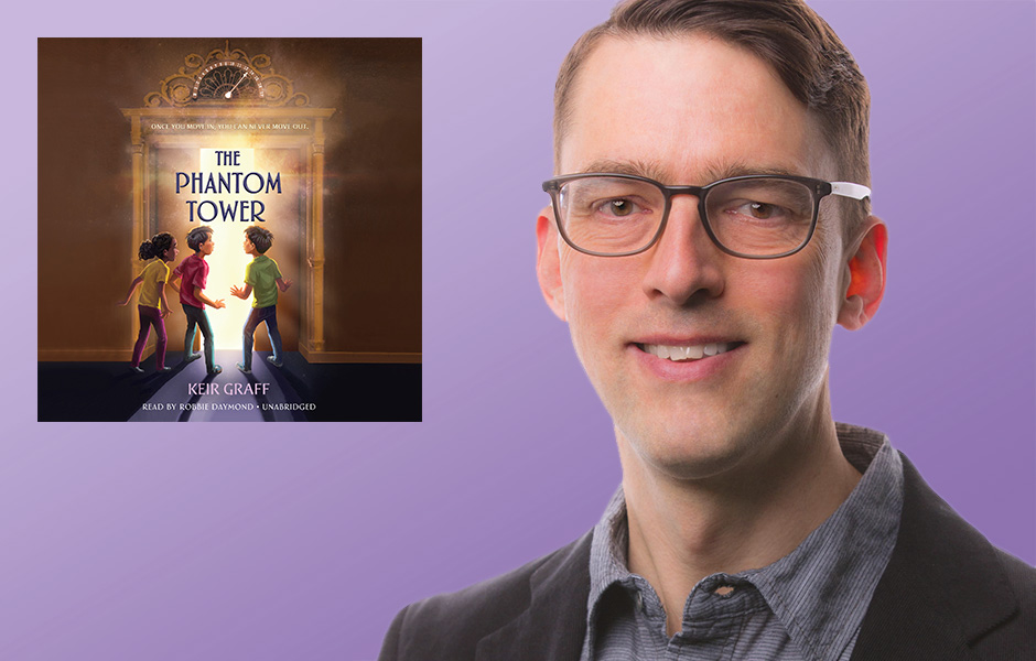 Keir Graff author of The Phantom Tower