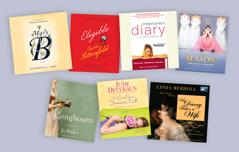 Audiobooks inspired by Pride & Prejudice