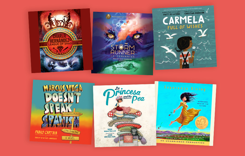 Audiobooks for kids during HIspanic Heritage Month
