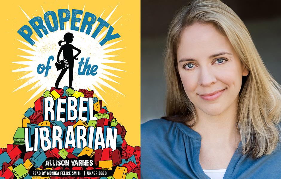 Allison Varnes Property of the Rebel Librarian