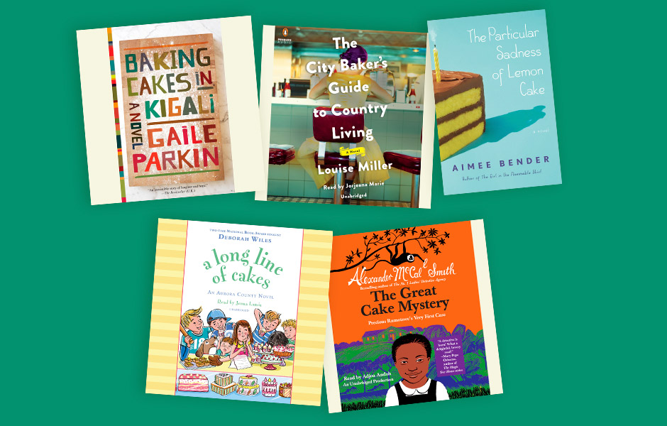 Audiobooks featuring Cake for National Dessert Day