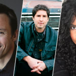 This is the Author with Markus Zusak, Matt de la Pena, and Nic Stone