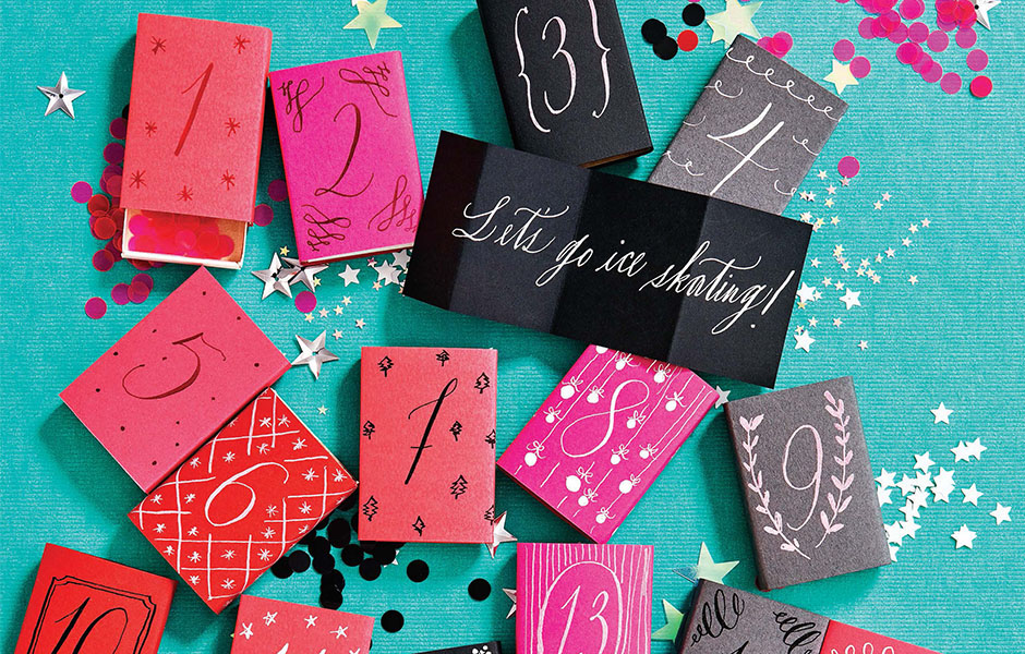 Matchbox Countdown Craft Project