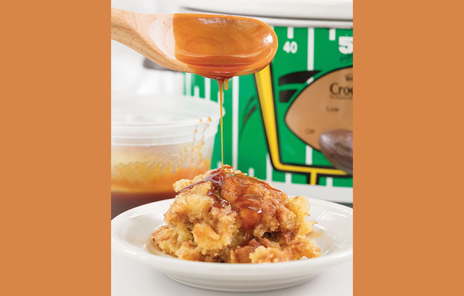 Apple Cider Crock-pot pudding from All About Cake by Christina Tosi
