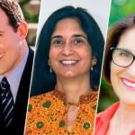 Raymond Arroyo, Padma Venkatraman, and Julie Bogart This Is the Author
