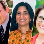 Raymond Arroyo, Padma Venkatraman, and Julie Bogart This Is the Author