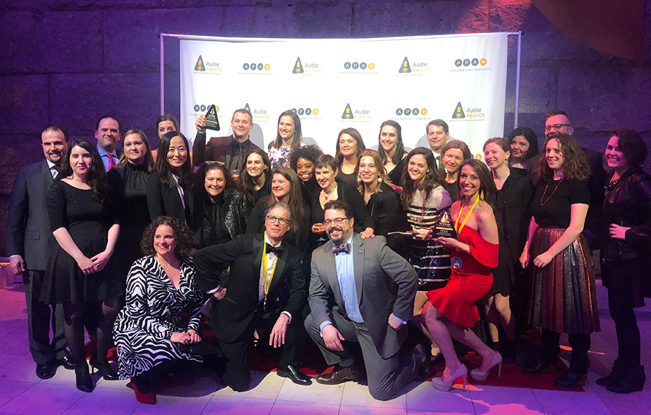Audie Award Team PRHA 2019