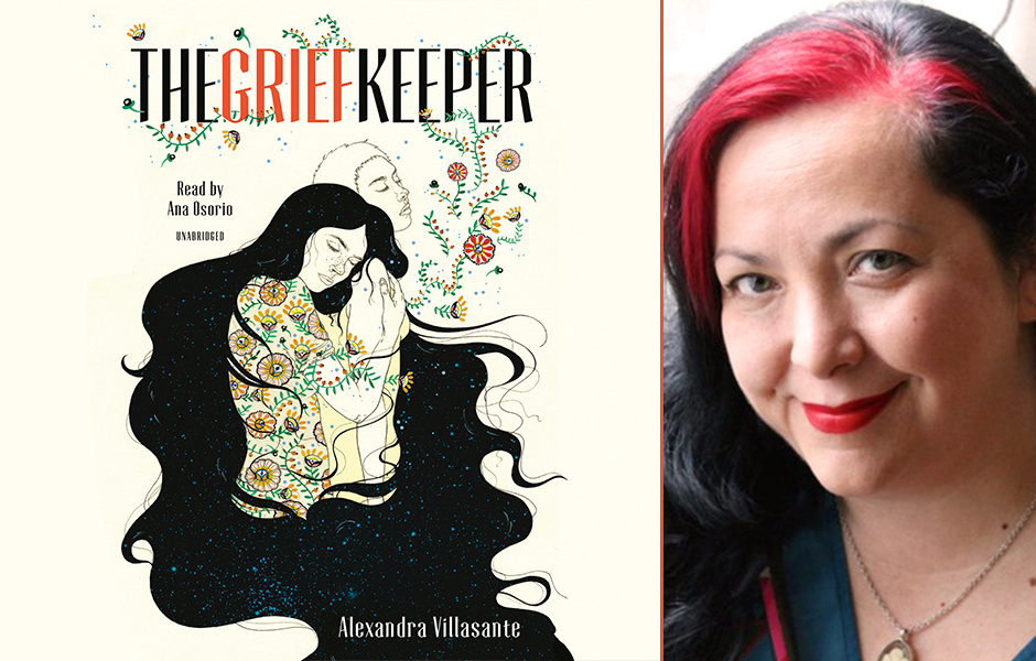 Alexandra Villasante author of The Grief Keeper