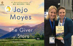 VIDEO: Narrator Julia Whelan on recording Jojo Moyes' <em>The Giver of Stars</em>