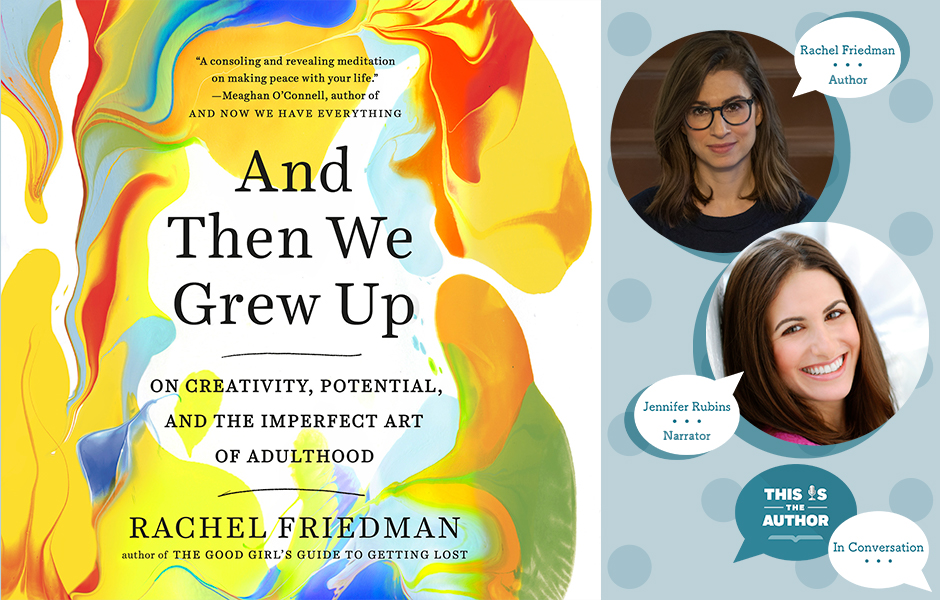podcast image In Conversation with Rachel Friedman and Jen Rubins fb