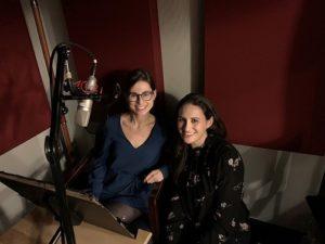 Author Rachel Friedman and Narrator Jen Rubins