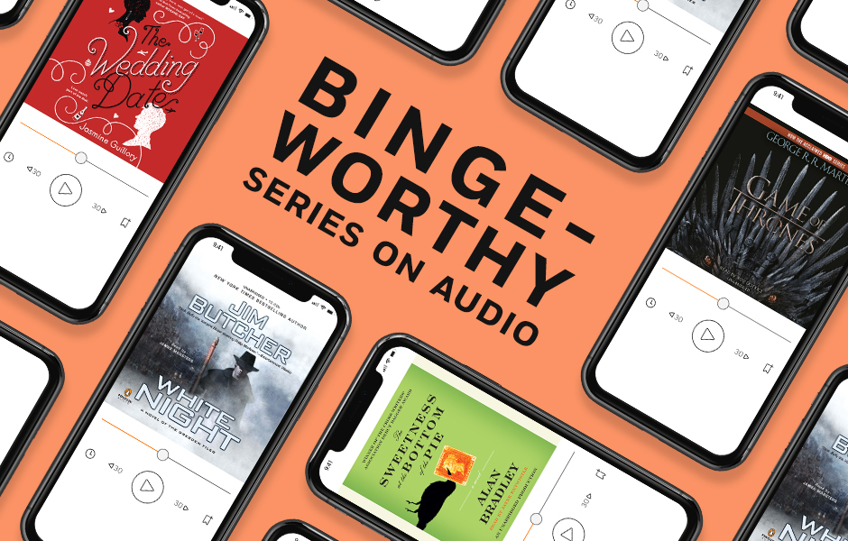 Binge-Worthy Series on Audio