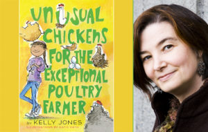 Author Kelly Jones on Stories & Our Senses (and an audio game!)