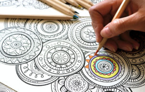 Think Outside the Lines! 5 Coloring Pages For You