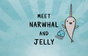 The Full-Cast Audio Production of <em>Narwhal and Jelly</em> Makes A Splash!