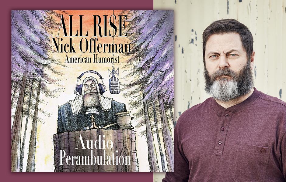 Nick Offerman Narrator Announcement