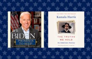 Audiobooks by President-elect Joe Biden and Vice President-elect Kamala Harris