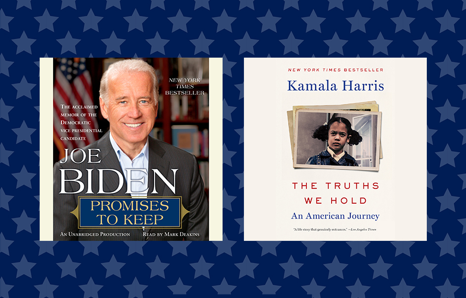 Biden and Harris Audiobooks