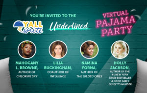 Join the YALLWrite PJ Party and Get a Free Audiobook Download