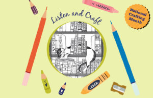 And Meow for Something Different: Coloring, Cats, and Short Tales on Audio
