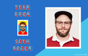 Stay cool: Seth Rogen's audiobook, YEARBOOK, is read by over 80 narrators