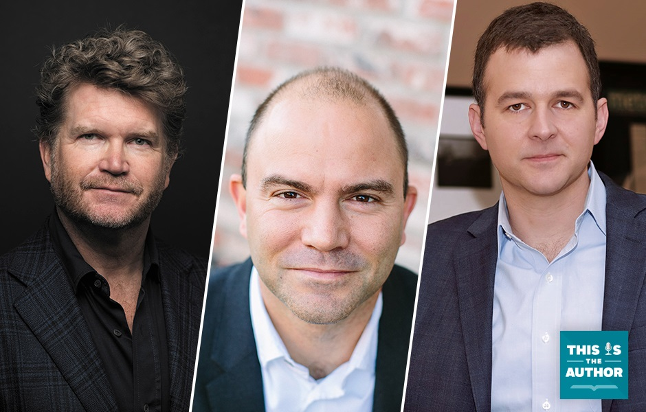 This Is the Author S6 E48: Images of Matthew Barzun, Ben Rhodes, Andy Martino