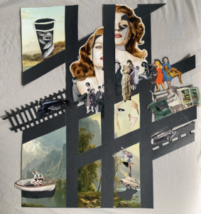 Listen and Craft Collage of Lucille Image