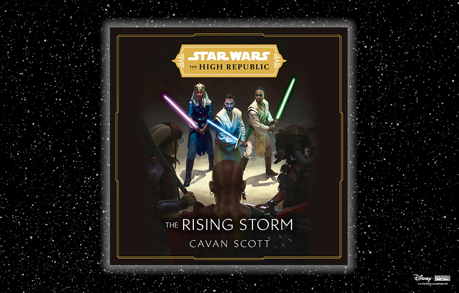 Star Wars Canon Audiobook Timeline Featuring the Cover of The Rising Storm