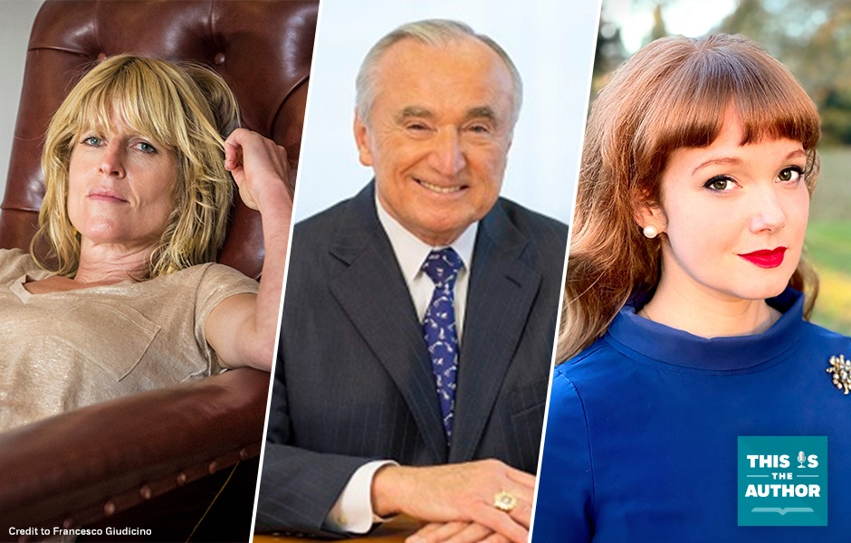 This Is the Author S6 E51 Images of Rachel Johnson, Bill Bratton, Kelly Williams Brown