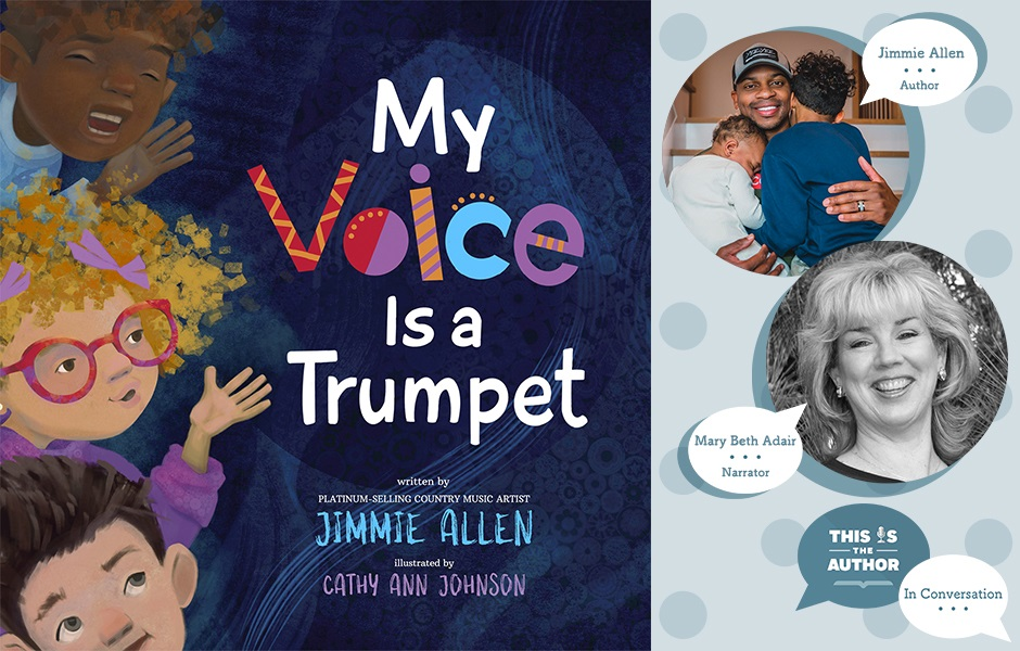 This Is the Author Season 6 Episode 55: In Conversation with Jimmie Allen and Mary Beth Adair