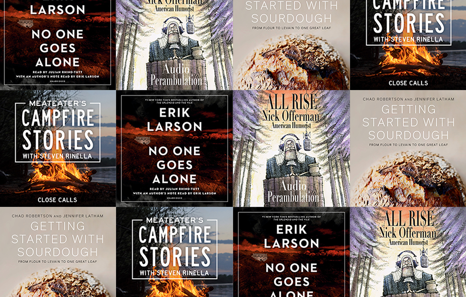 Image featuring the covers of Audiobook Originals