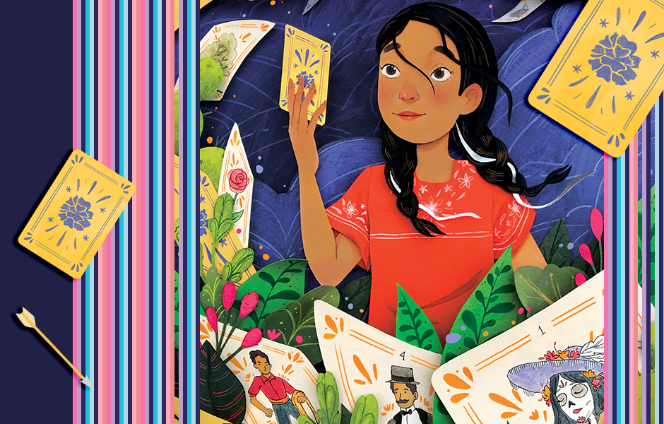Magical Realism Audiobooks for Kids Post Featuring Art from Lotería cover