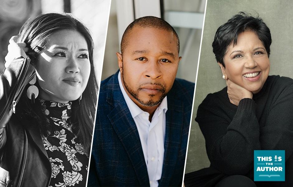 Qian Julie Wang, Jarrett Adams, Indra Nooyi