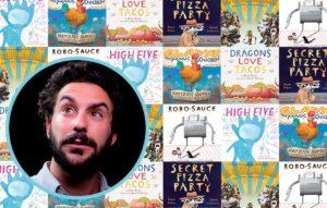 Dragons, Pizza, and Robots: Hear Adam Rubin on Audio