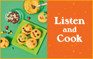 Kids in the Kitchen: Bake Pumpkin Patch Cupcakes!