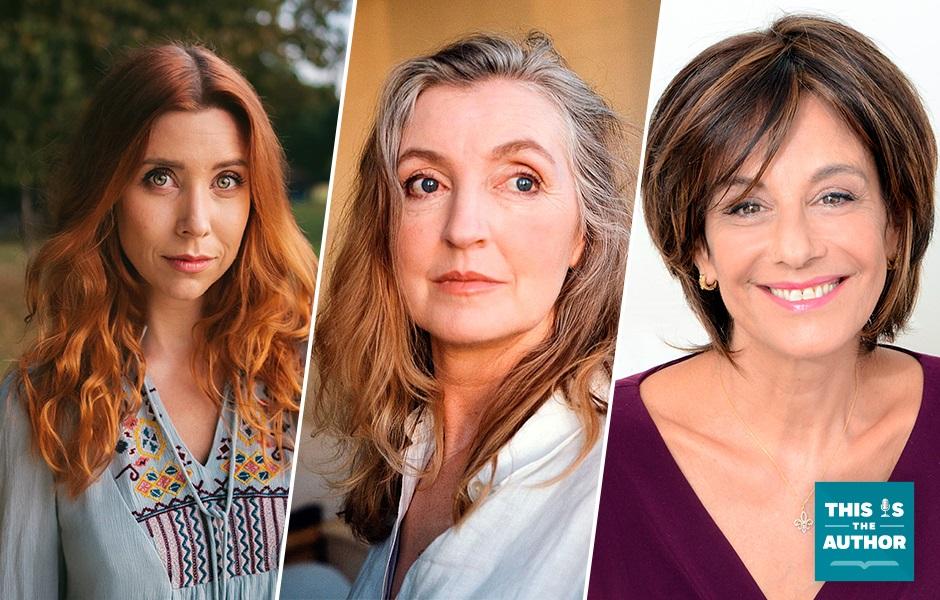 This Is the Author S6 E72 Image of Hazel Hayes, Rebecca Solnit, Katherine Woodward Thomas